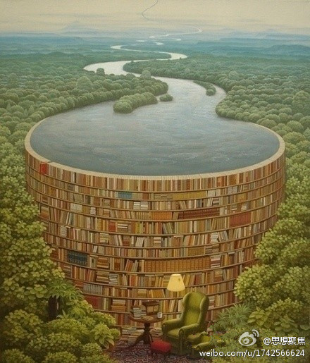读书多了内心才不会决堤