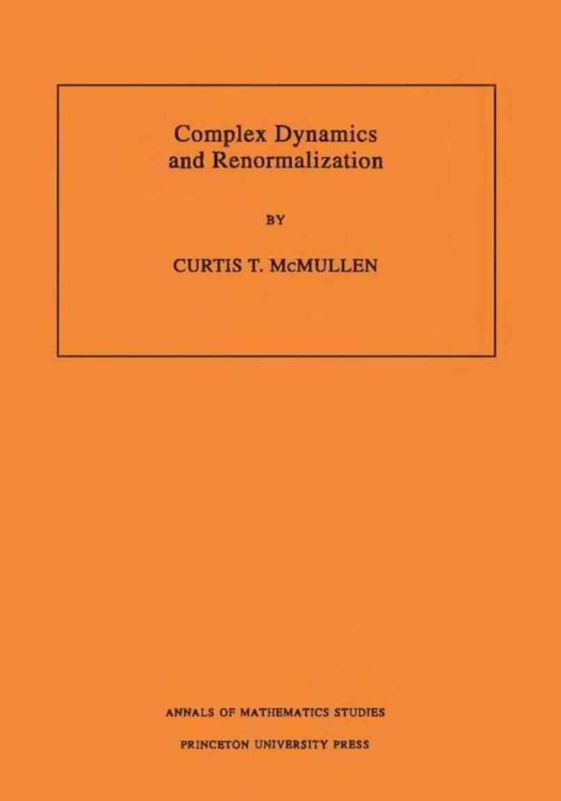 ComplexDynamicsandRenormalization